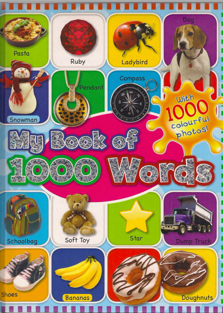 1000 Basic English Words 1,2,3,4 2