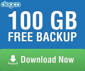 Hướng dẫn có 600 GB lưu trữ miễn phí Degoo 1