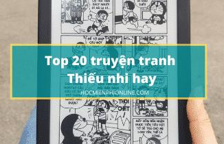 Danh sách 20 truyện tranh thiếu nhi hay